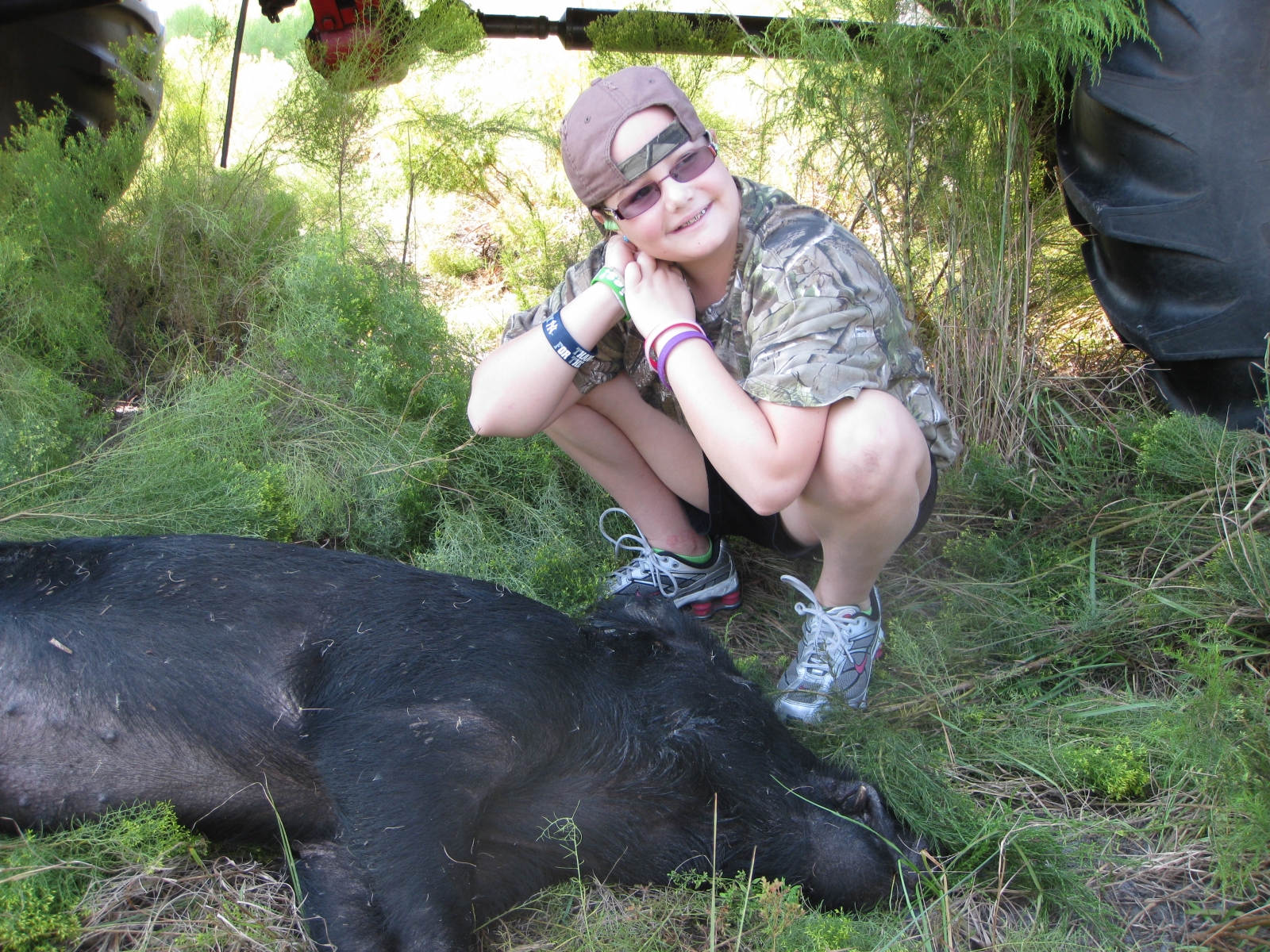 Youth hog hunting fishing trips for the next generation for Fish hunt fl